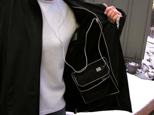 Jacket With Earphones