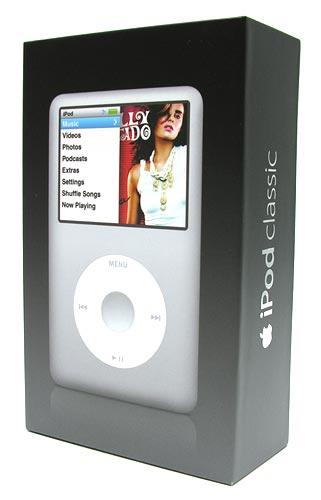 apple ipod classic the gadgeteer rh the gadgeteer com iPod Classic 5th Generation OtterBox for iPod Classic 160GB