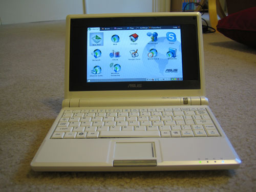 Asus Eee Pc 4g 701 Review The Gadgeteer