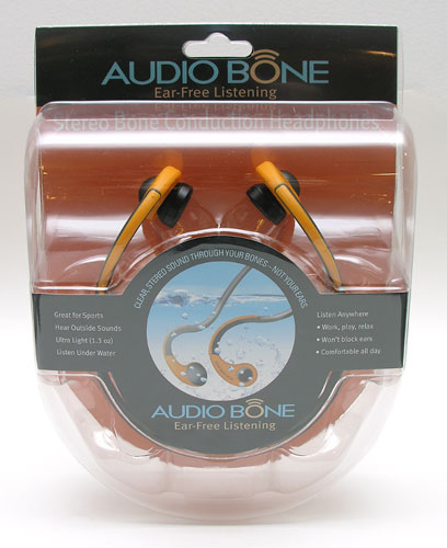 Audio Bone packaging