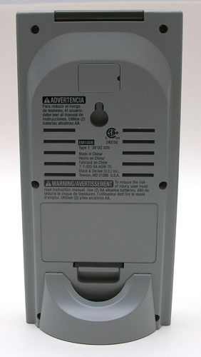 Black & Decker Power Monitor back