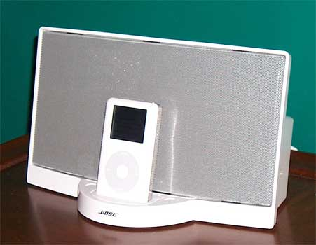 bose ipod sounddock review the gadgeteer. Black Bedroom Furniture Sets. Home Design Ideas
