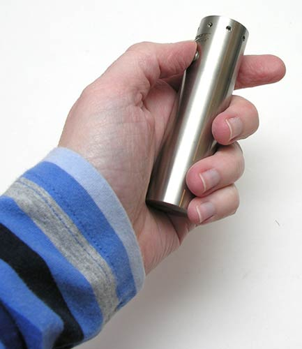 Coast Led Lenser V6 Stainless Steel 6 Chip The Gadgeteer