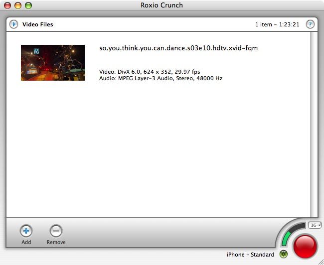 Roxio steps in to make tivotogo for mac