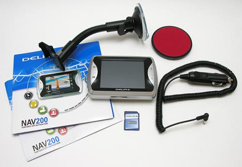 delphi nav200 gps the gadgeteer rh the gadgeteer com Garmin GPS Product GPS Satellite Navigation