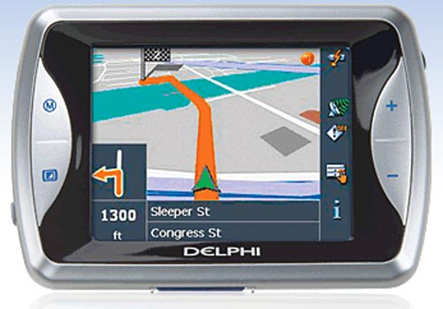 delphi nav200 gps the gadgeteer rh the gadgeteer com Truck GPS Navigation Garmin GPS Product