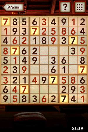 Electronic Arts Sudoku for iPhone