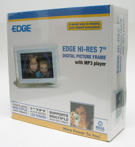 edge digital frame