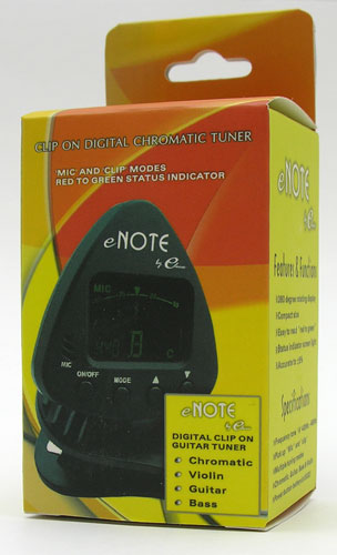 enote chromatic tuner