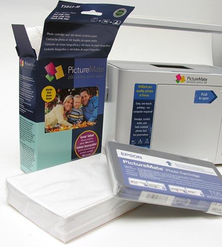 Epson PictureMate Dash (PM 260) Portable Photo Lab – The
