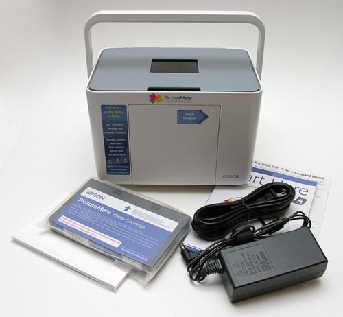 Epson picturemate dash (pm 260) portable photo lab – the gadgeteer.