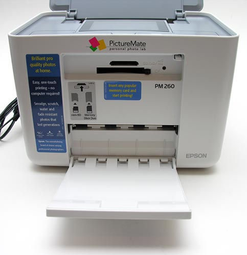 Epson Picturemate Dash Pm 260 Portable Photo Lab The Gadgeteer