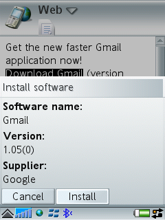 GMail Mobile – The Gadgeteer