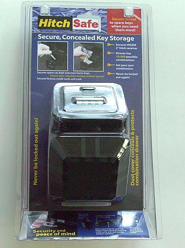 Adjustable Tow Hitch >> HitchSafe Key Vault – The Gadgeteer