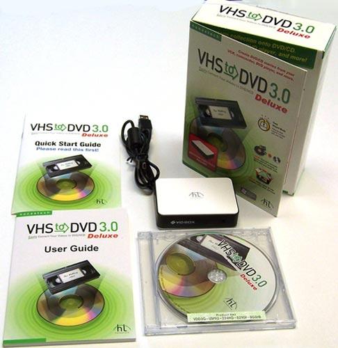 Honestech VHS to DVD 5.0.24 Deluxe - запись vhs на dvd.