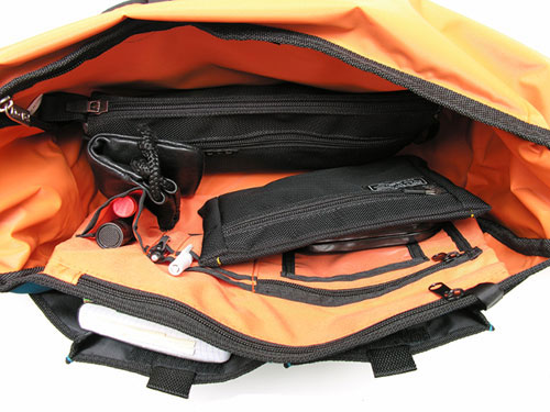 ice red messenger bag