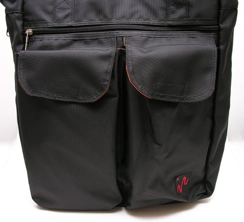 ice red uni laptop tote