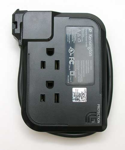 Battery Powered Outlet >> Kensington Portable Power Outlet Review The Gadgeteer