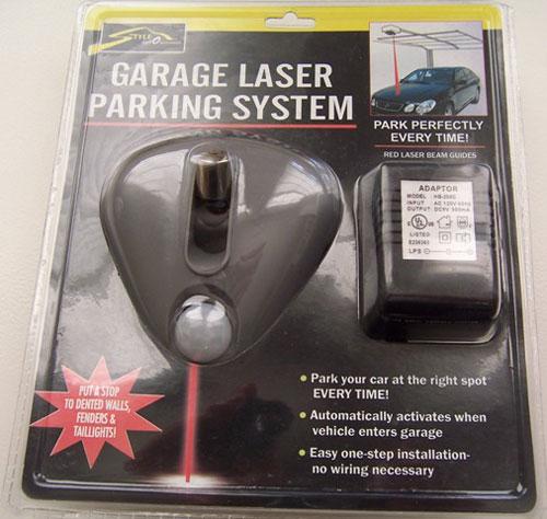 Garage Laser Parking System Review – The Gadgeteer
