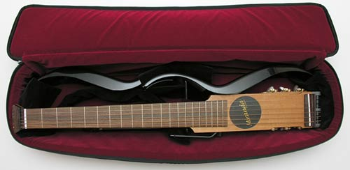 miranda s 250 travel guitar the gadgeteer. Black Bedroom Furniture Sets. Home Design Ideas