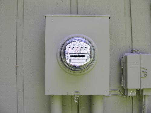 Electric Meter On House : Kill a watt ez electricity usage monitor the gadgeteer