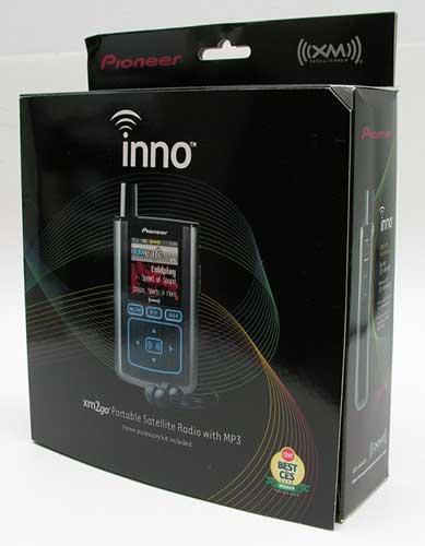 pioneer inno portable xm radio the gadgeteer Pioneer XM Radio Battery 990216 Pioneer Inno Accessories