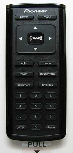 pioneer inno portable xm radio the gadgeteer Pioneer XM Radio Owner's Manual Pioneer Inno Portable XM Satellite Radio Car Kit with USB