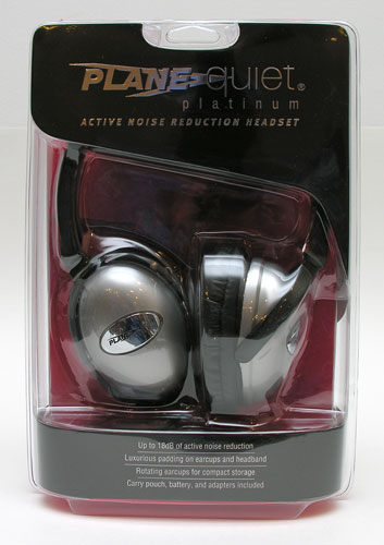 PlaneQuiet headphones