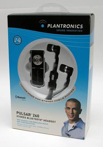 Plantronics Pulsar 260 Stereo Bluetooth Headset The Gadgeteer