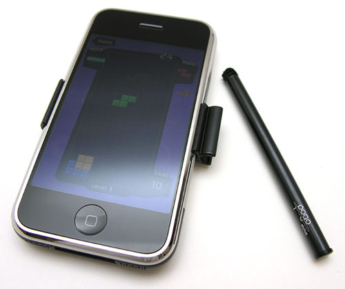 Pogo stylus for the iPhone
