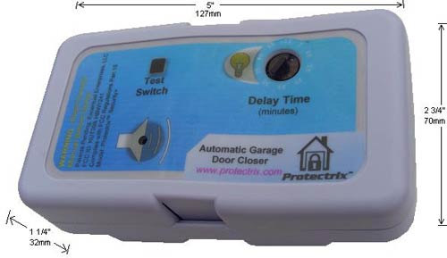 Protectrix Automatic Garage Door Closer The Gadgeteer