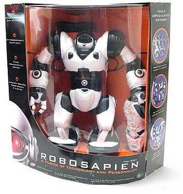 Robosapien Robot Review The Gadgeteer