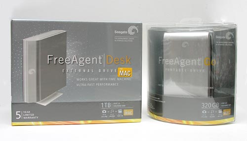 Seagate FreeAgent Drives package