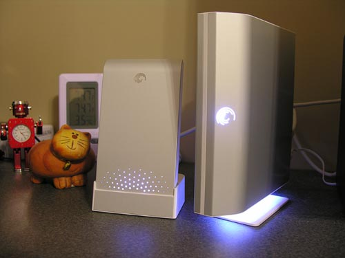 Seagate FreeAgent Go and Desk