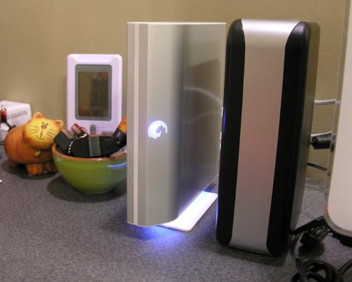 Seagate FreeAgent lights