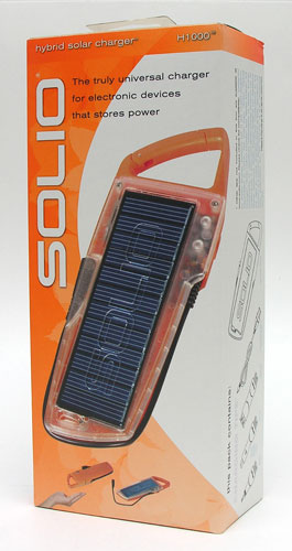 Solio H1000 Hybrid Solar Charger