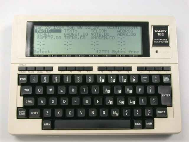 Radio Shack Trs 80 Portable Computer Review The Gadgeteer