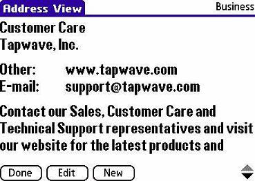 Tapwave Zodiac 2 Pocket PC Reviews   PDA Handhelds ...