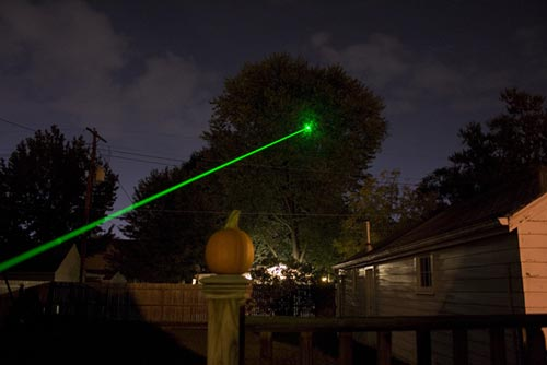 Techlasers Infiniti 125mw Green Laser The Gadgeteer