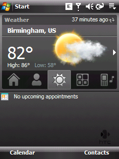 htc home weather