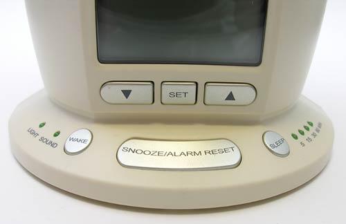 Verilux Rise Amp Shine Deluxe Natural Alarm Clock Bedside