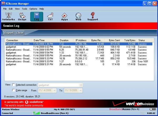 Verizon wireless usb727 modem review – the gadgeteer.
