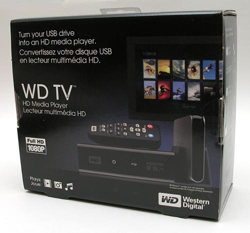 WD TV HD Media Player Package