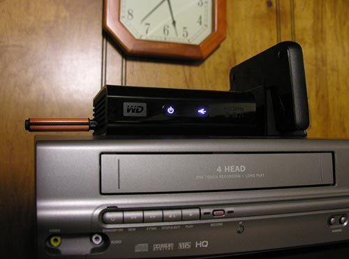WD TV HD Media Player LEDs