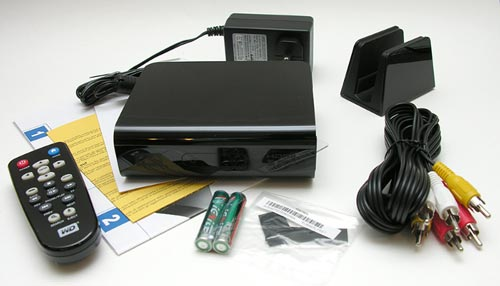 WD TV HD Media Player Contents