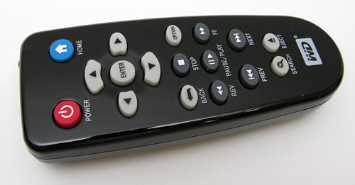 WD TV HD Media Player Remote Control