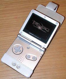 Game Boy Advance Sp Side