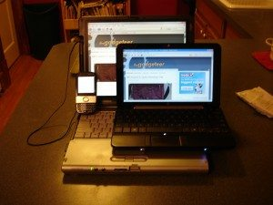 Centro, Mini, and Lifebook, all showing the-gadgeteer.com