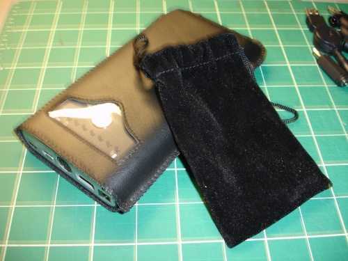 Slip cover and small parts bag