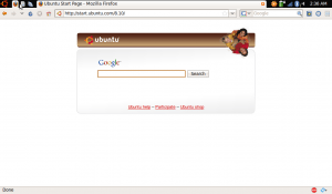 Firefox on Ubuntu Netbook Remix
